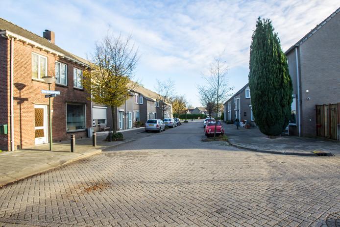 De Ter Borghstraat in Geldrop is inmiddels opgeknapt.