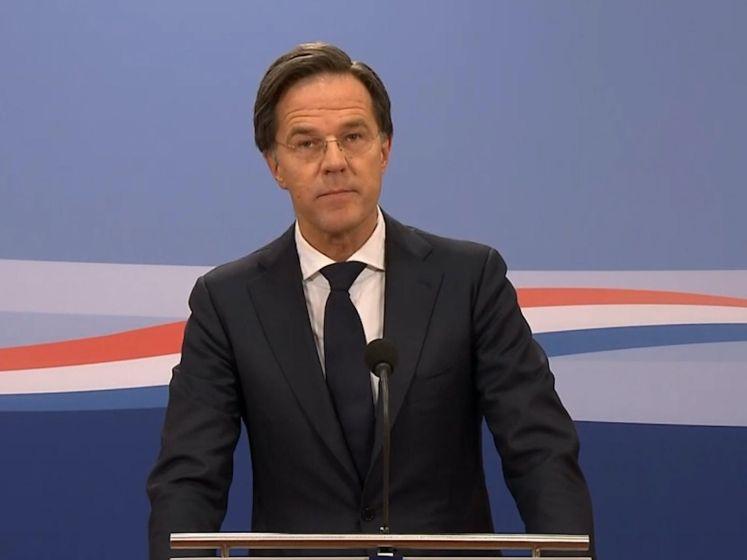 Kabinet valt. Einde Rutte III is feit wegens toeslagenaffaire