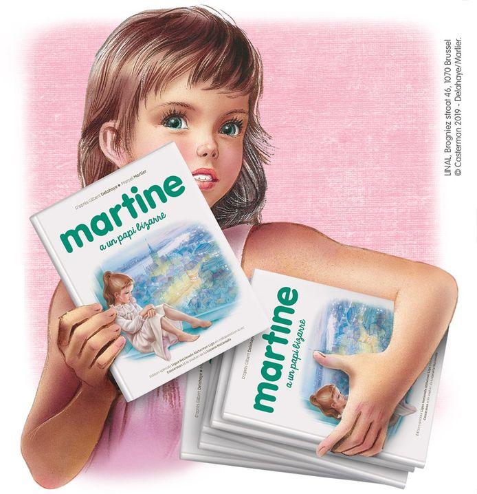 """""""Martine a un papi bizarre"""" propose des réponses aux questions que les enfants se posent et illustre les symptômes qu'ils pourraient reconnaître chez leurs grands-parents"""