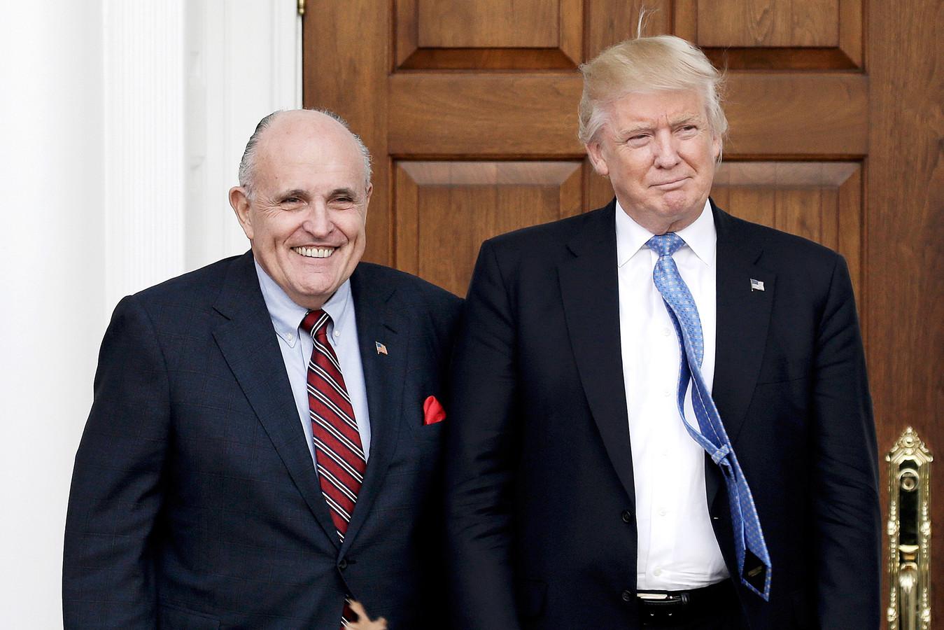 Rudy Giuliani, l'un des protecteurs de Donald Trump.