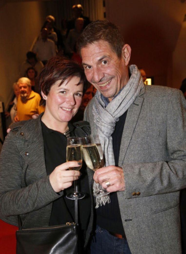 Eric Kerremans en vriendin Annelies Frans