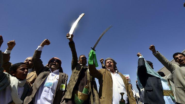 Sjiitische moslims in Jemen Beeld anp