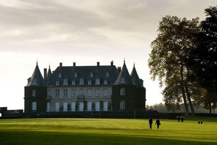 Le château de la Hulpe.