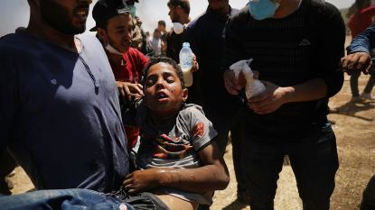 "Save the children: ""Zeker 150 kinderen beschoten in Gaza"""
