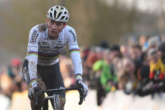 Mathieu van der Poel ervaart weer eens wat het is om niet te winnen.