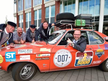 Team uit Duitse partnerstad bezoekt Gouda na roadtrip door Europa