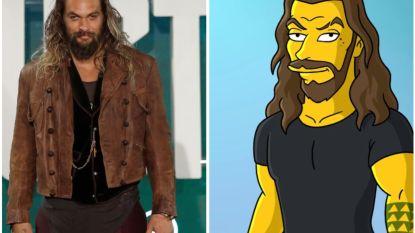 Zo zal 'Game Of Thrones'-ster Jason Momoa eruit zien in 'The Simpsons'