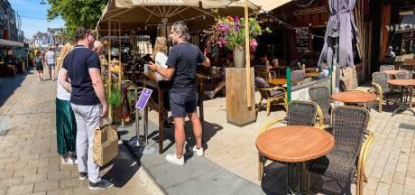 Tilburgse terrassen druppelen rustig vol: 'We zijn blij, heel blij'