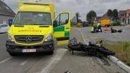 Motorrijder zwaar gewond bij ongeval op N42 aan 't Schipken