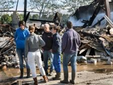 Oorzaak grote brand in Piershil blijft onbekend