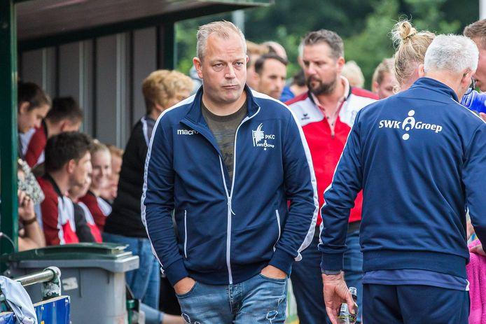 De finaleplaats voor DOS'46 was een teleurstelling voor Daniël Hulzebosch, de Nijeveense coach van PKC.