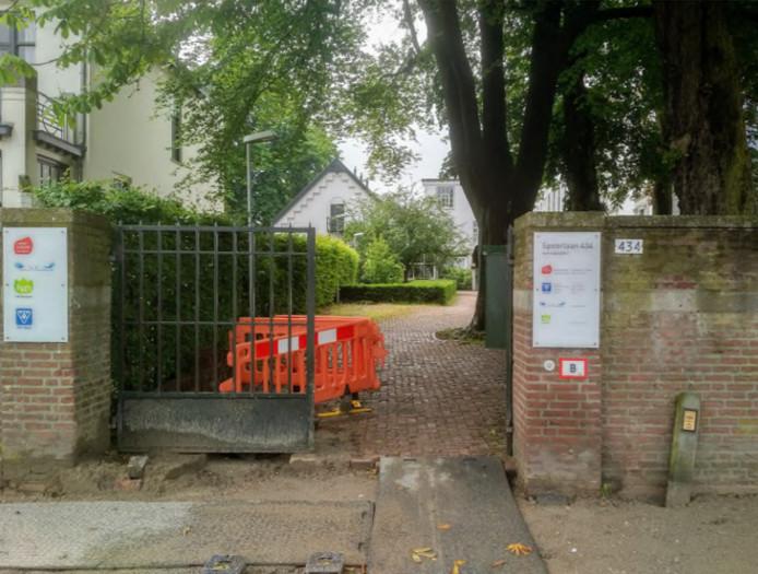 Zoekplaatje naar de toegang naar de VVV bij het Natuurmuseum.