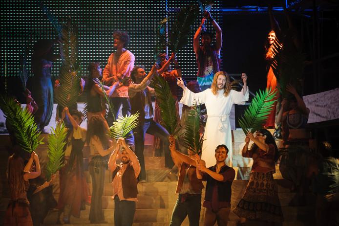 De spectaculaire theaterproductie Jesus Christ Superstar