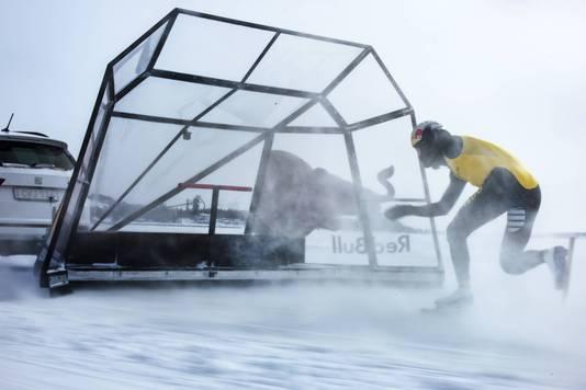 Nuis 'vliegt' naar wereldrecord: 93 kilometer per uur