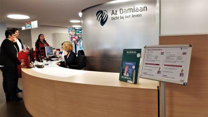 Al 100 tests op coronavirus in AZ Damiaan, intussen ook stalen van KU Leuven naar Oostende gebracht voor onderzoek