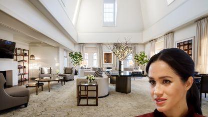 BINNENKIJKEN: Meghan Markle houdt babyshower in grootste hotelkamer van New York