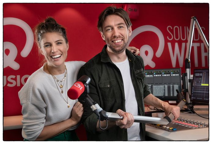 Radio-duo Mattie & Marieke van Q Music.