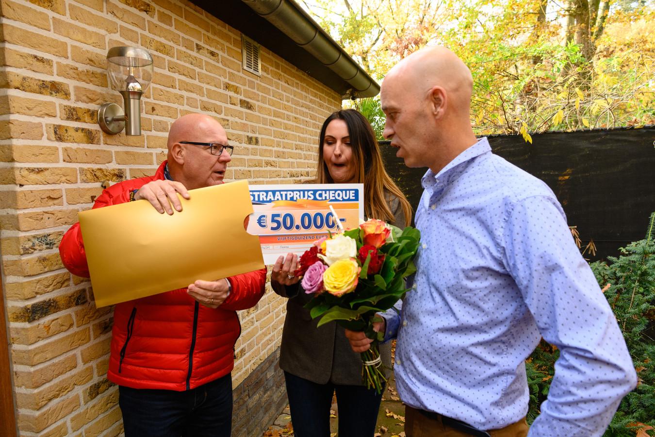 Teresa en haar partner wonnen 50.000 euro. 'En dat op mijn verjaardag! Je maakt ons jaar goed'.