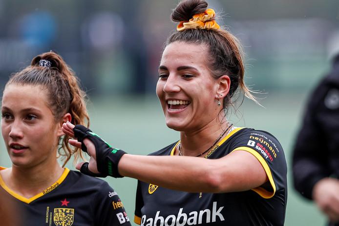 Frédérique Matla maakte het enige doelpunt tegen Hurley