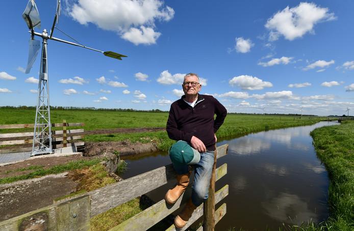 Voorzitter Kees Overbeek hoopt dat de Agrarische Natuurvereniging Lopikerwaard twee drones kan aanschaffen om weidevogelnesten te zoeken.