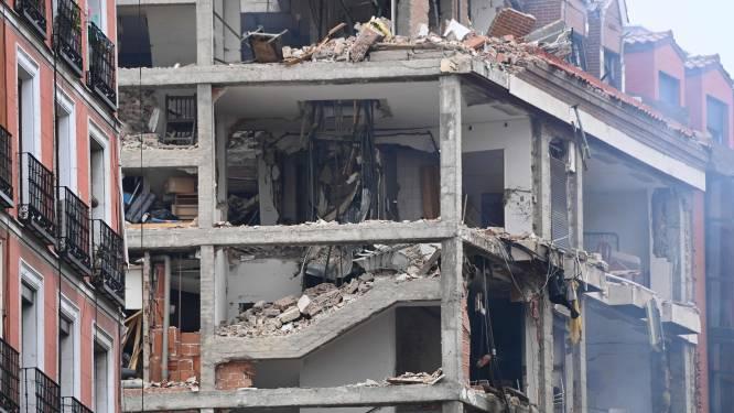 Zware ontploffing in gebouw in centrum van Madrid: minstens drie doden