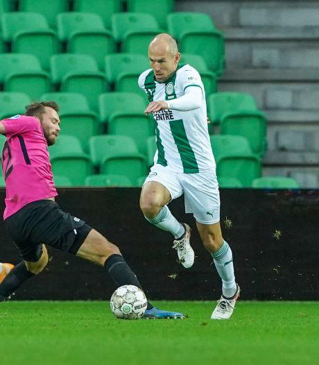 Invaller Robben kan FC Groningen niet helpen, FC Utrecht bijt zich stuk op Padt