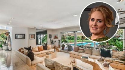 BINNENKIJKEN. Adele kocht een huis voor haar ex-man