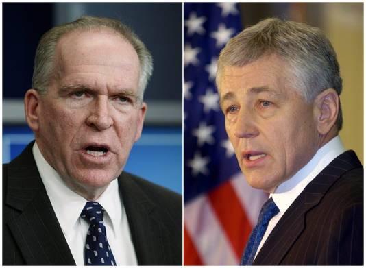 John Brennan et Chuck Hagel