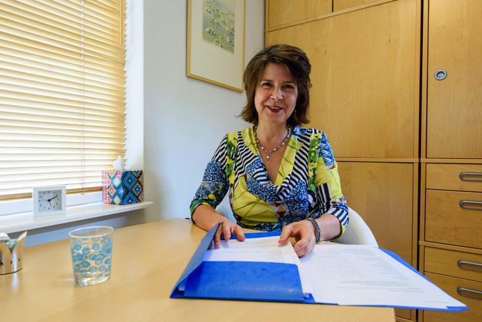 Caroline Horikx is voorzitter van het eerste Eindhovense Broodfonds.