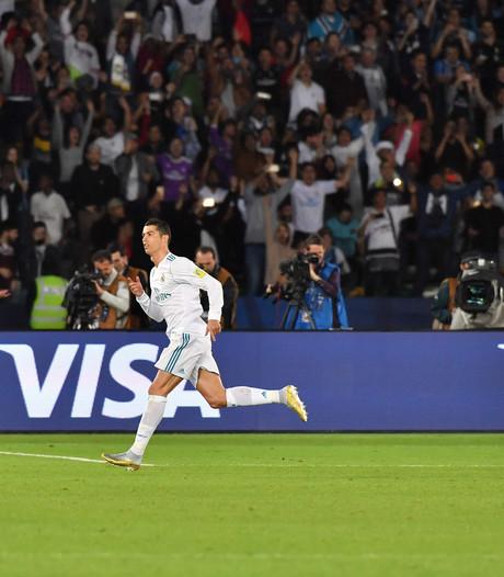 Ronaldo schiet Real naar wereldbeker voor clubs