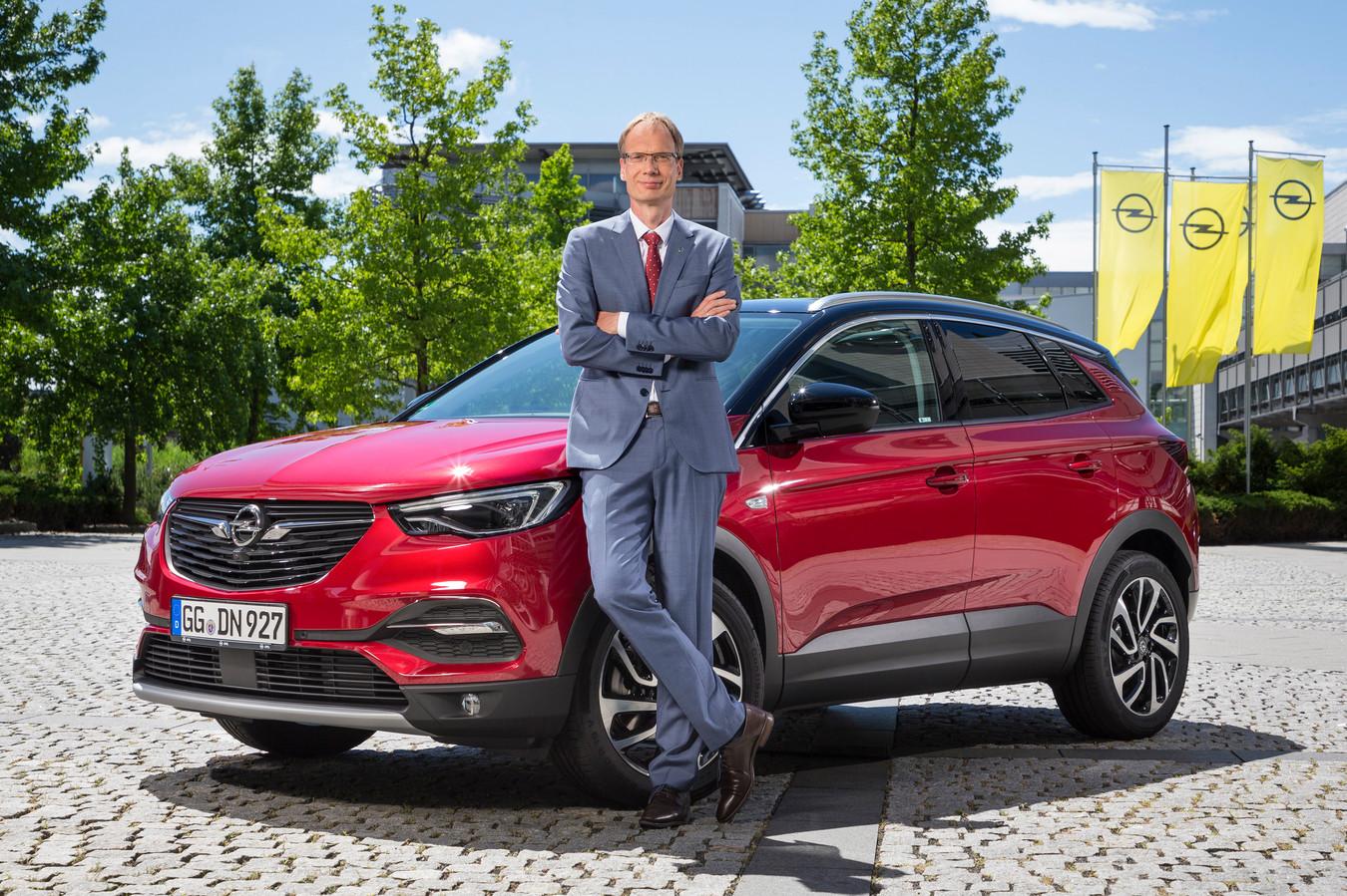 Opel-baas Michael Lohscheller: ,,Juist in Nederland rekenen we op veel succes met onze elektro- strategie.''