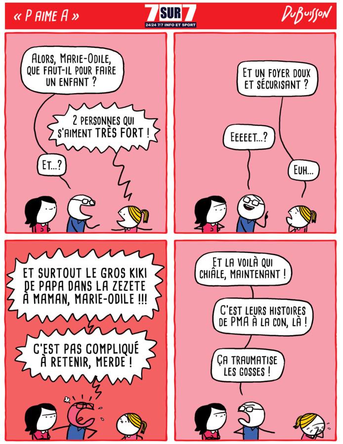 """""""P aime A"""", le 7 octobre 2019"""