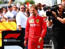Ferrari in beroep tegen tijdstraf Vettel