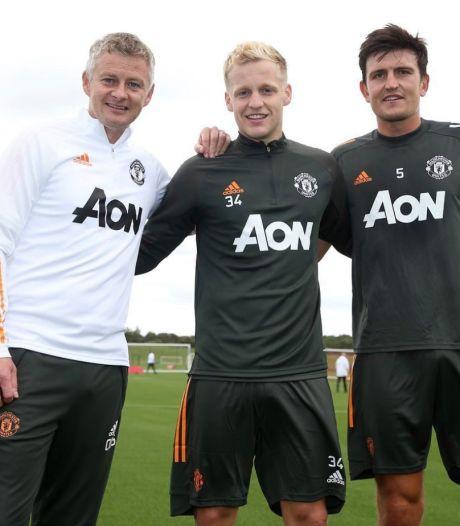 Van de Beek staat voor officiële debuut bij Manchester United