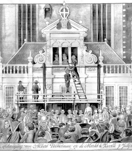 Zo werden twee Rucphenaren als laatste Brabanders ter dood gebracht: 'Slechts een oogenblik en... het regt had zijn loop gehad'