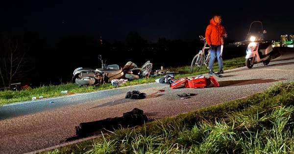 Scooterrijder uit Arnhem overleden na ongeluk op fietspad Grote Griet.