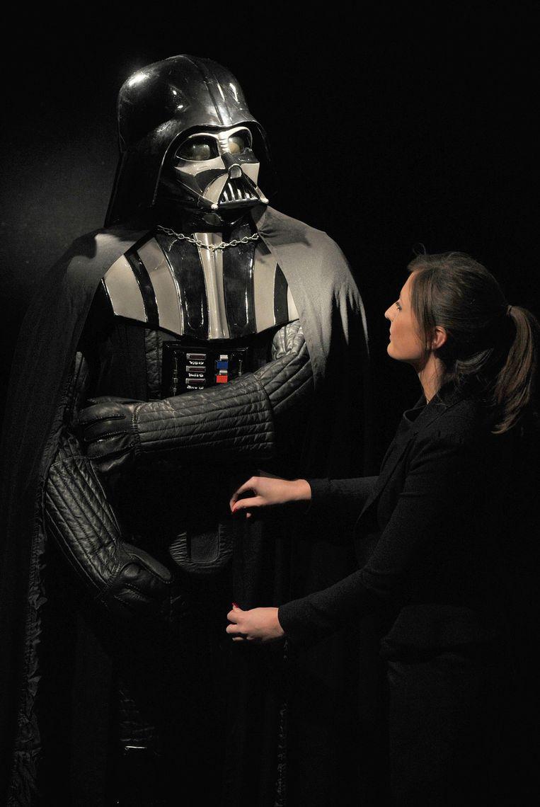 Het kostuum van Darth Vader. © ANP Beeld
