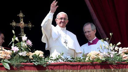 "Paus veroordeelt bomaanslag in Syrië tijdens ""Urbi et orbi"""