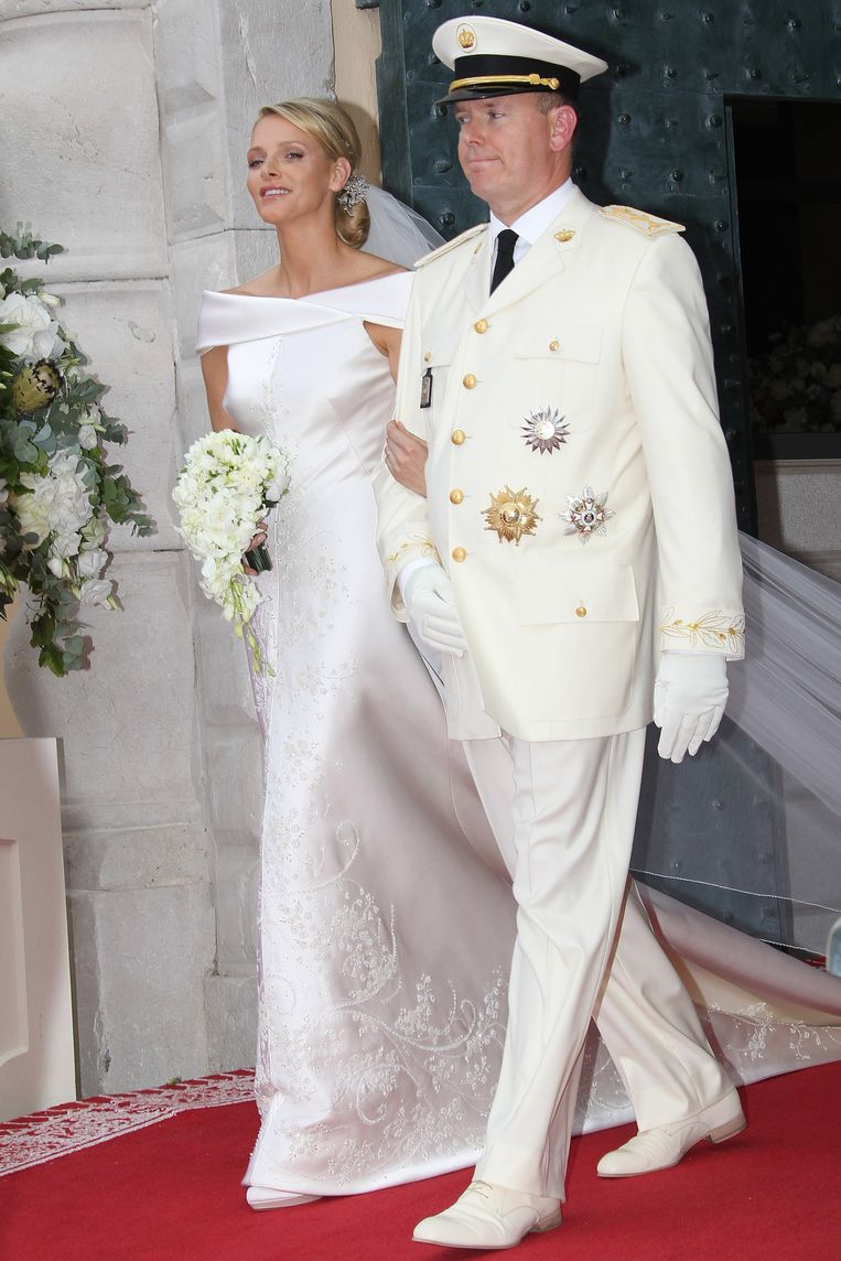 Albert II van Monaco en Charlene Wittstock