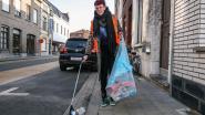 Natacha Jaumain coördineert Kortrijk Kraaknet: 'Elke keer 16 zakken aan PMD-afval'