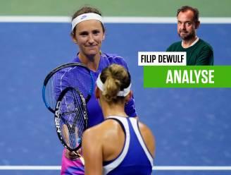 """Onze tennisexpert zag vannacht hoe Mertens onder de indruk was van een Wit-Russische pletwals: """"Spijtig maar geen drama"""""""