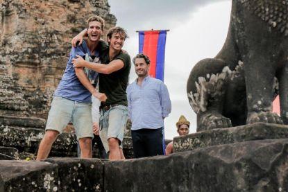 Gentenaars Brecht en Cedric winnen 'Peking Express'