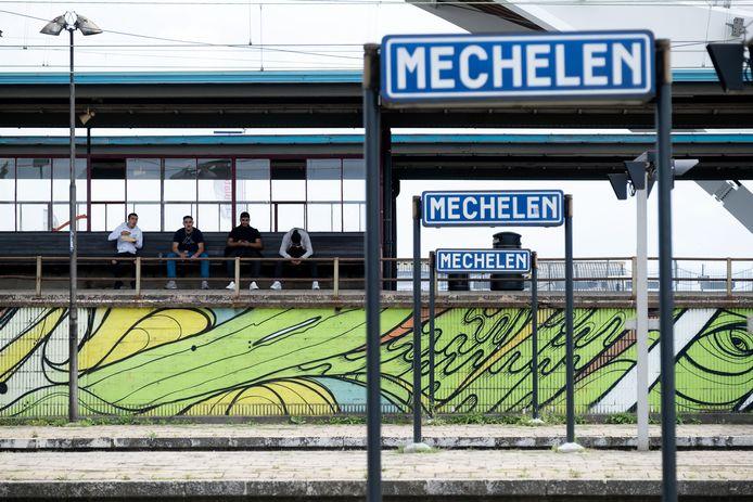 MECHELEN-   Het station van Mechelen