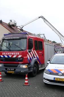 Blikseminslag in woning in Leusden