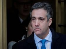 Trumps voormalige advocaat Cohen getuigt volgende week voor Congres VS