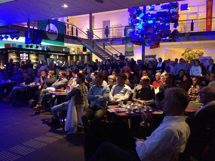 't Spectrum was maandagavond goed gevuld voor het slotdebat van Meierijstad.