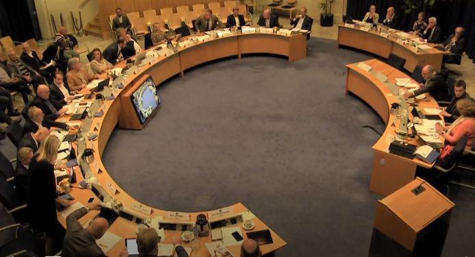 De gemeenteraad van Maasdriel (archieffoto).