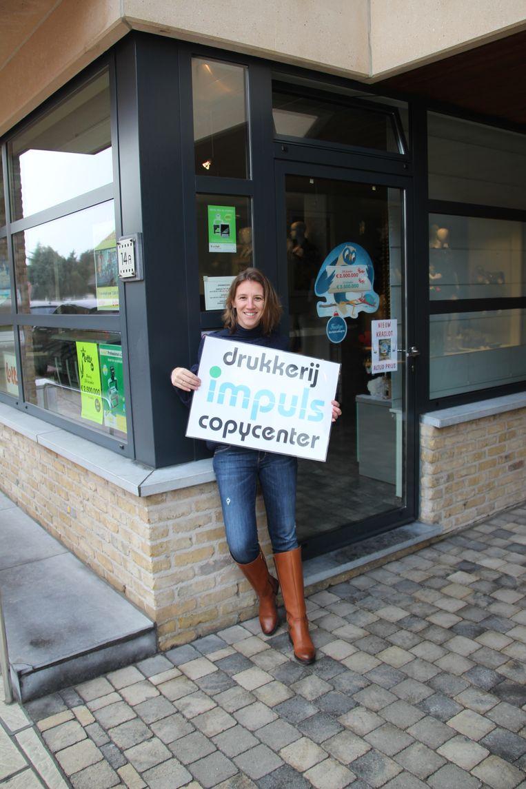Tina Jansseune zet drukkerij Impuls van haar schoonouders voort