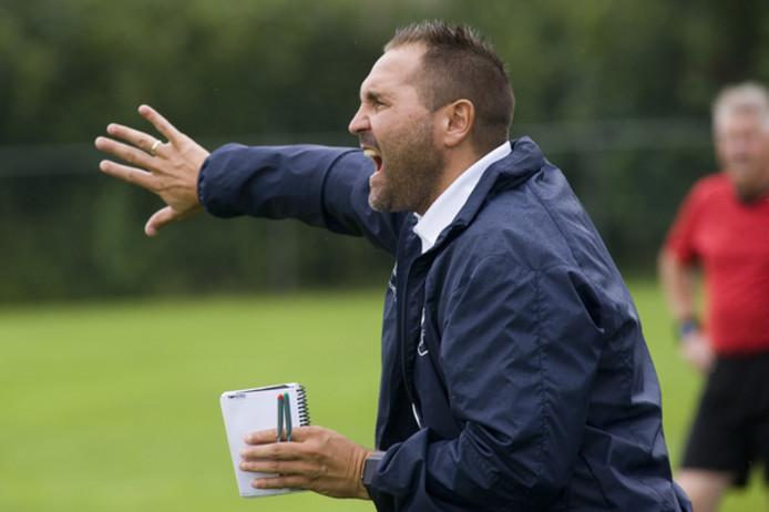 Trainer Scott Calderwood.