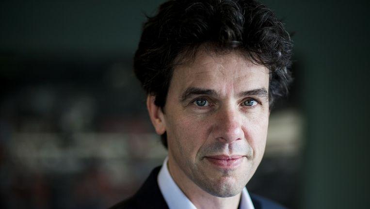 Lijsttrekker Pieter Hilhorst van de PvdA. Beeld Rink Hof